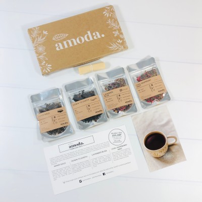 Amoda Tea Subscription Review + Coupon – February 2021