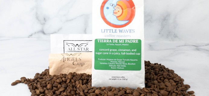 Angels' Cup Subscription Review & Coupon – Little Waves Coffee Roasters