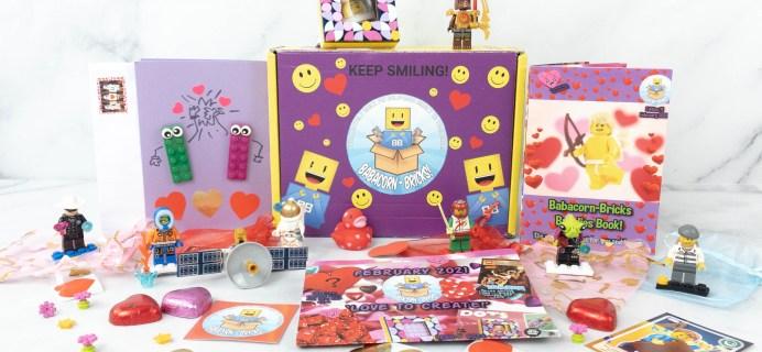 Babacorn-Bricks Box Lego Subscription Box Review
