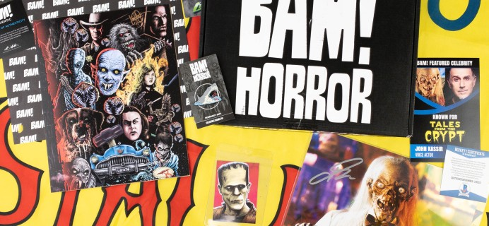 The BAM! Horror Box February 2021 Subscription Box Review