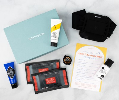 Birchbox Grooming Review + Coupon – March 2021