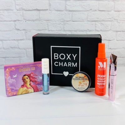 BOXYCHARM Review + Coupon – March 2021
