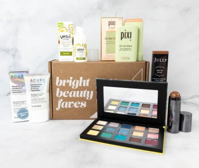 Brandefy Bright Beauty Faves Spring 2021 Subscription Box Review