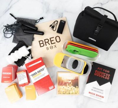 Breo Box Review + Coupon – Spring 2021