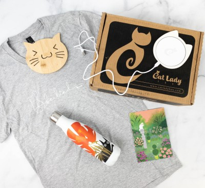 Cat Lady Box March 2021 Subscription Box Review – SPRING TIME!