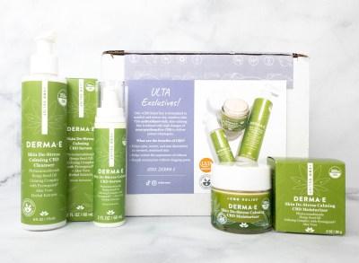 Derma-E CBD Relief Skin Care Set Review