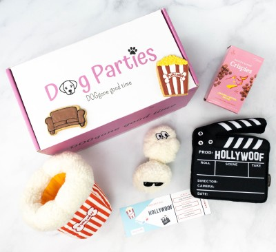 Dog Parties Subscription Box Review –  February 2021