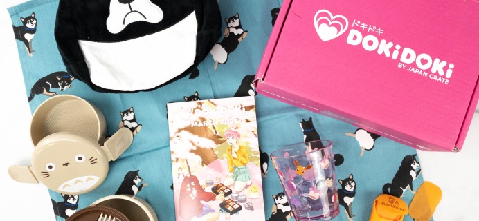 Doki Doki March 2021 Subscription Box Review & Coupon