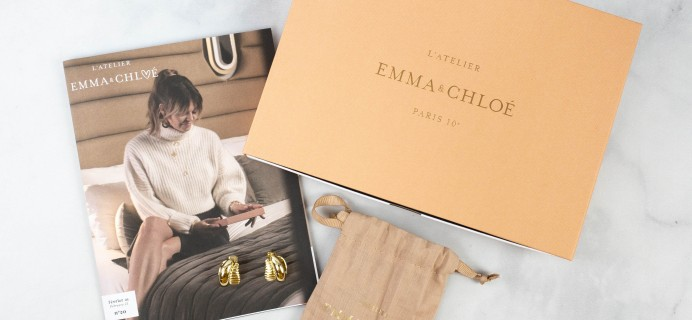 Emma & Chloe February 2021 Jewelry Subscription Box Review + Coupon