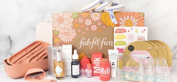 FabFitFun Spring 2021 Box Review + Coupon