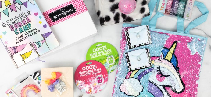 Fashion Angels Find Your Wings Subscription Box Review + Coupon – April 2021
