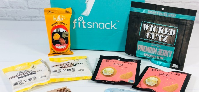 FitSnack Subscription Box Review + Coupon – March 2021