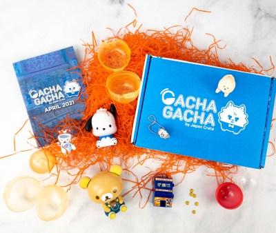 Gacha Gacha Crate April 2021 Subscription Box Review + Coupon