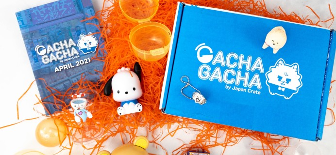 Gacha Gacha Crate April 2021 Subscription Box Review + Coupon