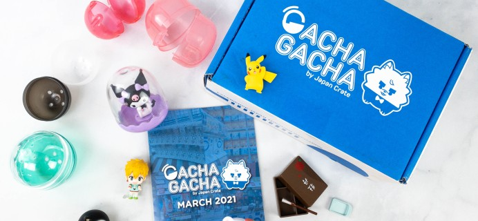 Gacha Gacha Crate March 2021 Subscription Box Review + Coupon