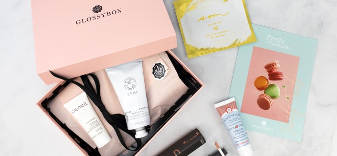 GLOSSYBOX March 2021 Review + Coupon