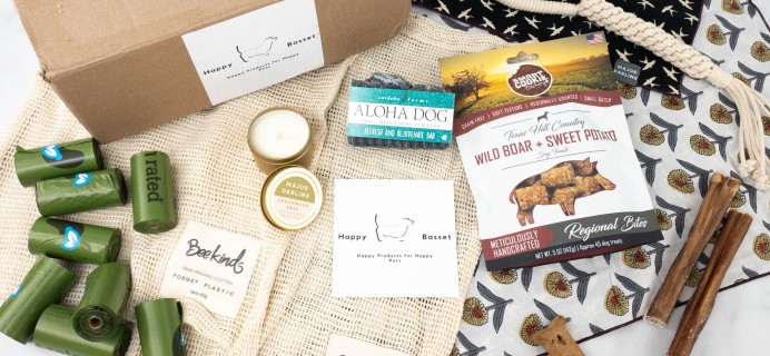 Happy Basset Box Review + Coupon