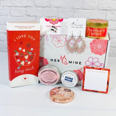 HER-MINE Box February 2021 Subscription Box Review + Coupon