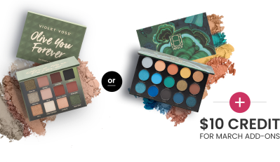 BOXYCHARM Coupon: FREE Palette + $10 Add-Ons Credit with March 2021 Box!