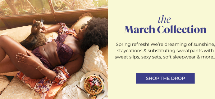 Adore Me March 2021 Collection Reveal + Coupon!