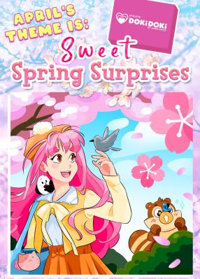 Doki Doki April 2021 Theme Spoilers + Coupon!