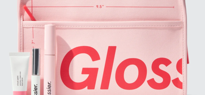 Glossier Limited Edition Beauty Bag + Makeup Set Available Now!