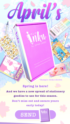 Inku Crate April 2021 Theme Spoilers + Coupon!