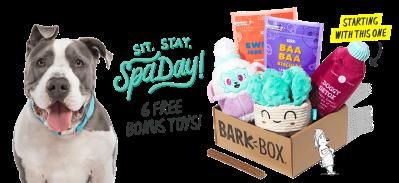 BarkBox Deal: 6 FREE Bonus Toys With Subscription!