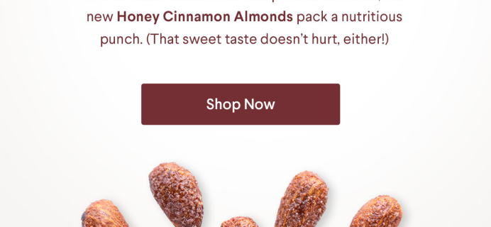 NatureBox Honey Cinnamon Almonds Available Now + Coupon!