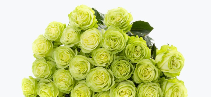 BloomsyBox St. Patrick's Day Deal: Save $10 on Green Roses!