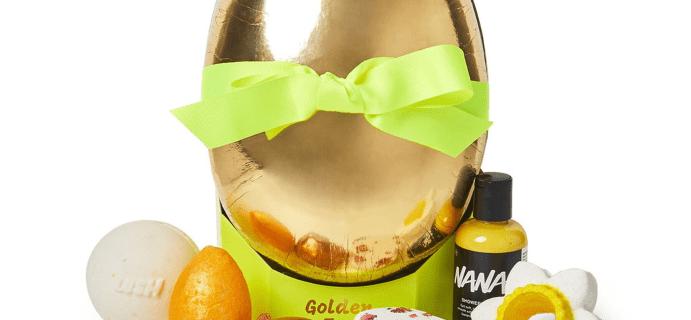 LUSH Golden Egg Available Now + Full Spoilers!