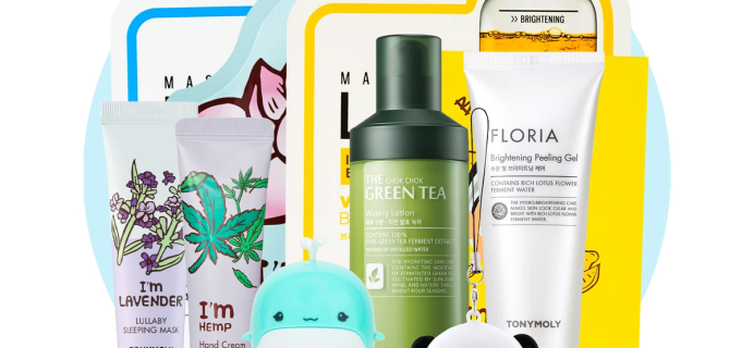 Tony Moly March 2021 Monthly Bundle Available Now + Full Spoilers!