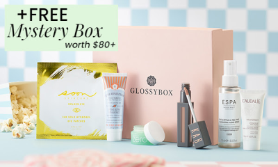 GLOSSYBOX Coupon: FREE Mystery Box!