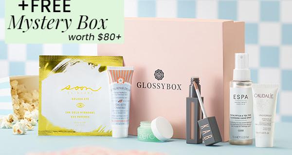 GLOSSYBOX Coupon: FREE Mystery Box!