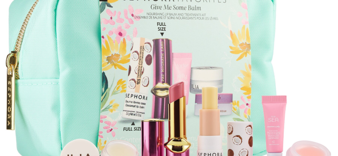 New Sephora Favorites Give Me Some Lip Balm Set Available Now + Coupons!