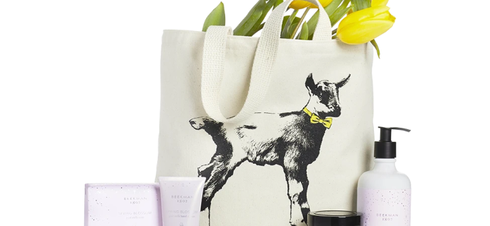 Beekman 1802 Seasonal Fragrance Tote Subscription Spring 2021 Available Now + Full Spoilers!
