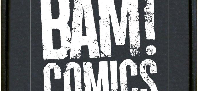 The BAM! Comics Box May 2021 Spoilers!