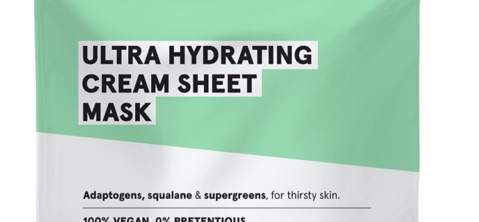 PSA: Whole Foods Beauty Bag – Acure Withdraws Ultra Hydrating Cream Sheet Mask Off Market!