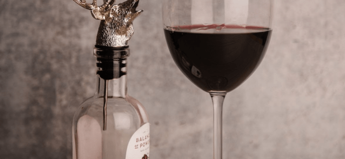 In Good Taste Wines Coupon: Get FREE Stag Head Wine Pourer!