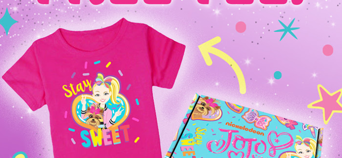 The JoJo Siwa Box Coupon: FREE T-Shirt With Annual Plan!