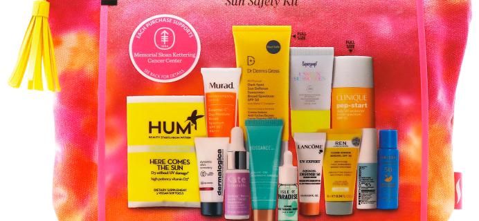Sephora Sun Safety Kit 2021 Available Now!