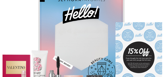 Sephora Favorites Hello! Beauty Gems Set Full Spoilers – Available Now!