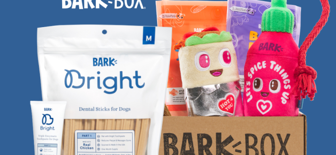 Bark Bright Coupon:  Free Dinner Dates BarkBox with Subscription!