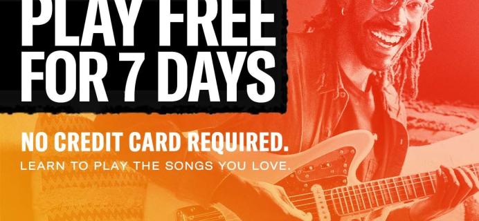 Fender Play Sale: 7 Days FREE Trial!