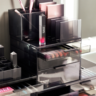 Spring Beauty Cleaning: Sarah Tanno x iDesign Signature Series Makeup Organizers Available Now!