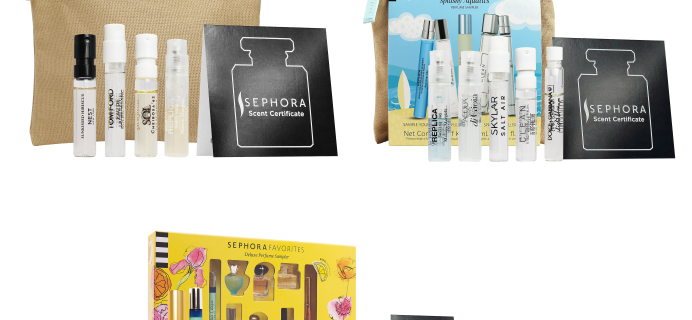 Three New Sephora Fragrance Kits Available Now + Coupons!