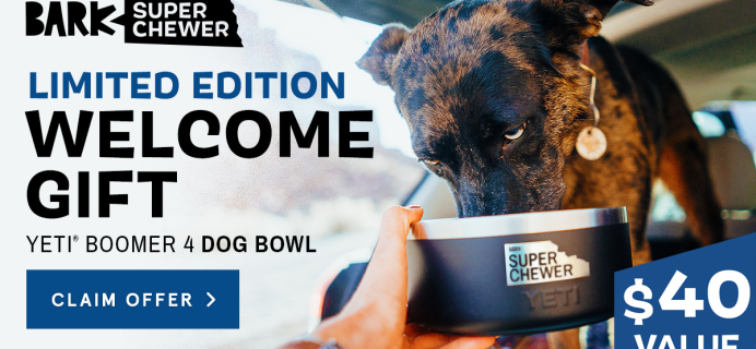 Super Chewer Coupon: FREE Yeti Bowl!
