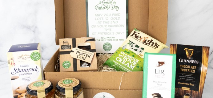 Irish Taste Club Subscription Box Review & Coupon – March 2021