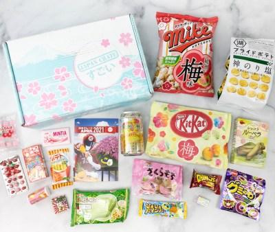 Japan Crate April 2021 Review + Coupon
