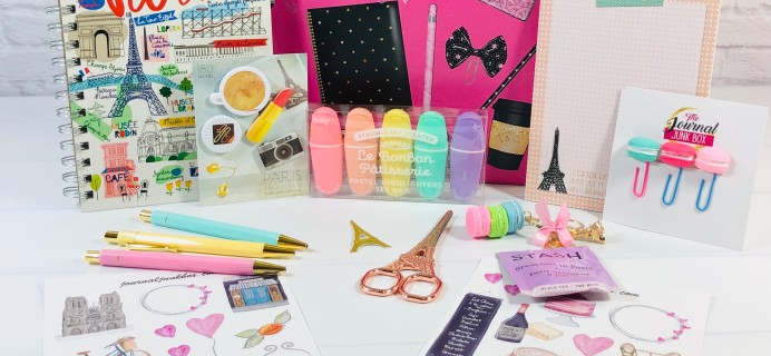 Journal Junk Box March 2021 Subscription Box Review